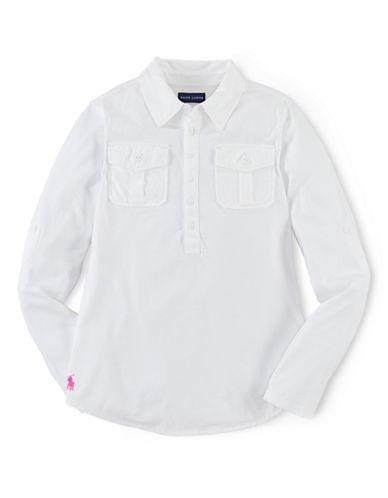 RALPH LAUREN CHILDRENSWEARGirls 7-16 Cotton-Modal Blend Tunic