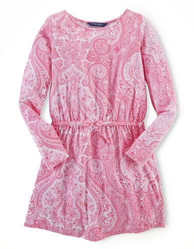 RALPH LAUREN CHILDRENSWEARGirls 7-16 Paisley Printed Dress