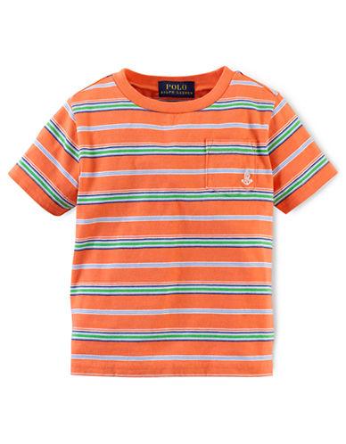 RALPH LAUREN CHILDRENSWEARBaby Boys Striped Pocket Tee
