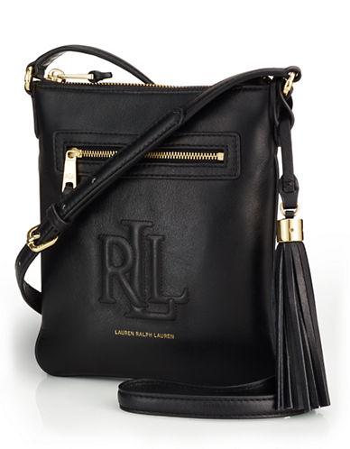 LAUREN RALPH LAURENLeather Crossbody Bag