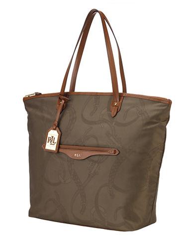 LAUREN RALPH LAURENCavalry Nylon Tote Bag