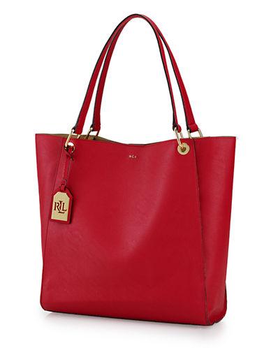 LAUREN RALPH LAURENAiden Leather Tote Bag