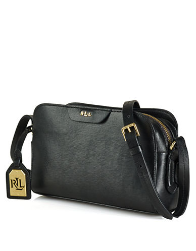 LAUREN RALPH LAUREN Tate Leather Crossbody Bag