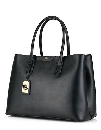 LAUREN RALPH LAURENTate Leather City Tote Bag