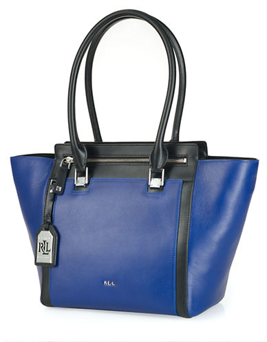 LAUREN RALPH LAUREN Ashford Tumbled Leather Tote Bag