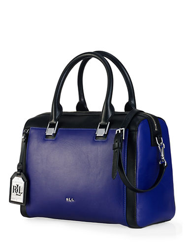LAUREN RALPH LAUREN Ashford Leather Satchel
