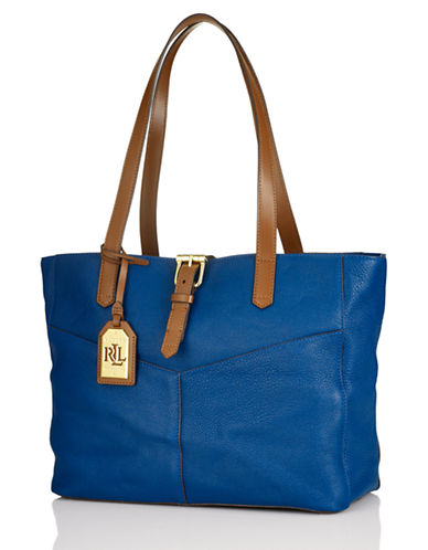 LAUREN RALPH LAUREN Landrey Leather Tote