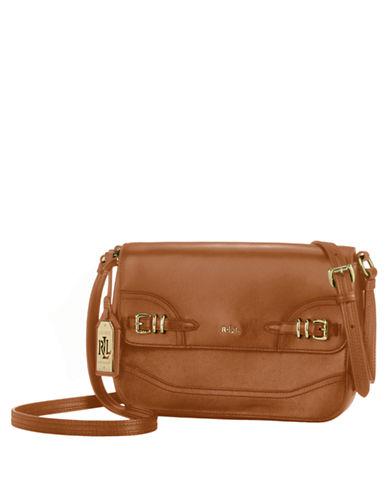 Lauren Ralph Lauren Leather Messenger Bag