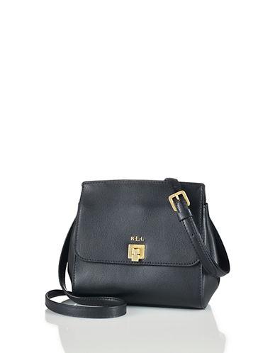 LAUREN RALPH LAURENWhitby Leather Crossbody Bag - Black