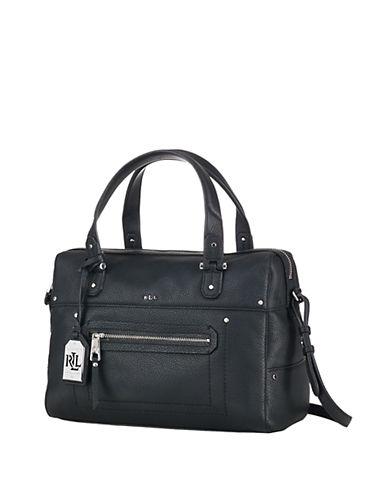 Lauren Ralph Lauren Huet Leather Satchel Bag