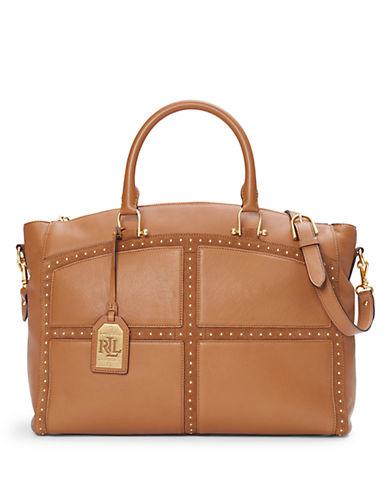 Lauren Ralph Lauren Bastwick Leather Tote