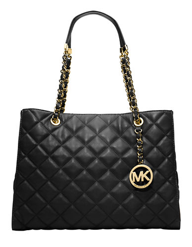 MICHAEL MICHAEL KORS Susannah Quilted Leather Tote Bag