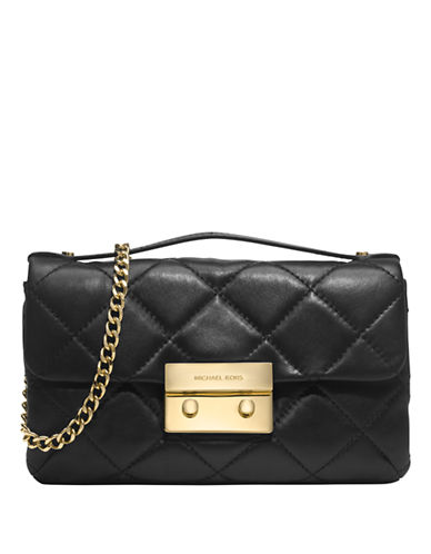 MICHAEL MICHAEL KORS Sloan Quilted Leather Messenger Bag