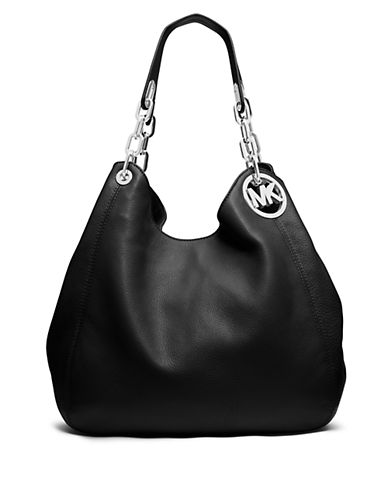 MICHAEL MICHAEL KORS Fulton Leather Large Tote Bag