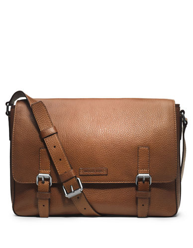 MICHAEL KORS Bryant Leather Messenger Bag