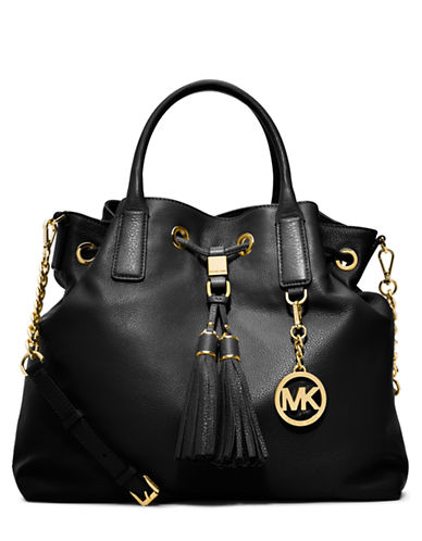 MICHAEL MICHAEL KORS Camden Leather Large Drawstring Satchel