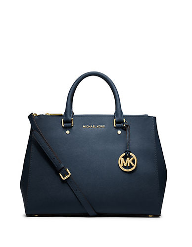 MICHAEL MICHAEL KORS Saffiano Leather Satchel