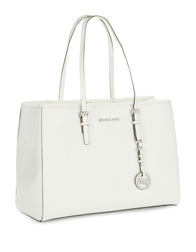 MICHAEL MICHAEL KORS Squared Leather Tote Bag