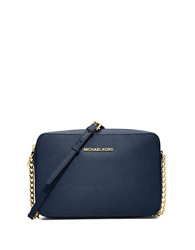 MICHAEL MICHAEL KORSJet Set Leather Large Crossbody Bag