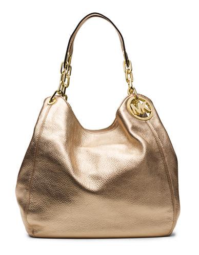 MICHAEL MICHAEL KORSFulton Leather Large Shoulder Tote Bag
