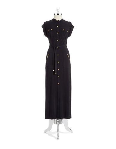 Shop Michael Michael Kors online and buy Michael Michael Kors Button Down Maxi Dress dress online