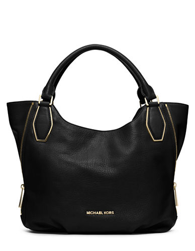 MICHAEL MICHAEL KORSVanessa Leather Medium Shoulder Tote Bag