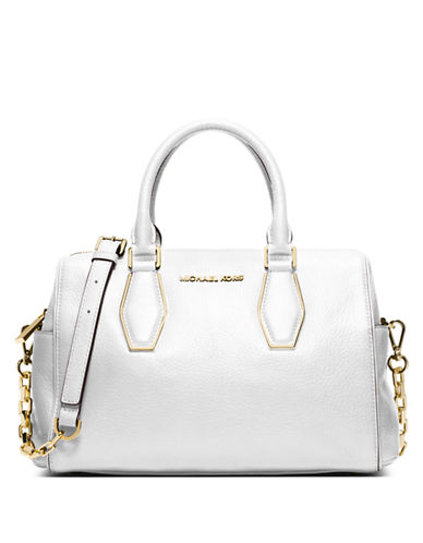 MICHAEL MICHAEL KORS Vanessa Leather Medium Chain Satchel