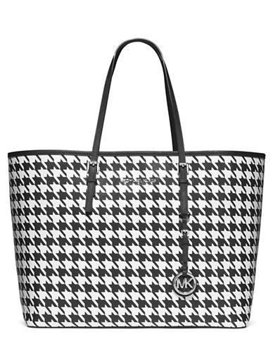 MICHAEL MICHAEL KORSJet Set Leather Medium Travel Tote Bag