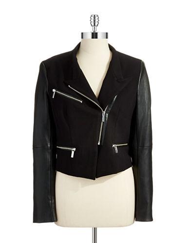 MICHAEL MICHAEL KORSAsymmetrical Zip Moto Jacket