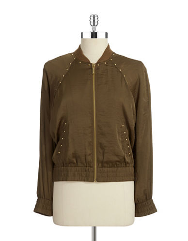 MICHAEL MICHAEL KORSPetite Stud Embellished Jacket