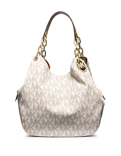 c546c4091647 UPC 888235844923. ZOOM. UPC 888235844923 has following Product Name  Variations: Michael Kors Fulton Large Shoulder Vanilla ...