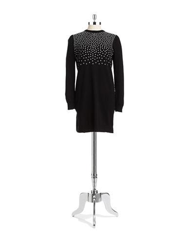 e6a9f8da835 UPC 888235932439. ZOOM. UPC 888235932439 has following Product Name  Variations  Michael Michael Kors Long-Sleeve Studded Sweater Dress ...