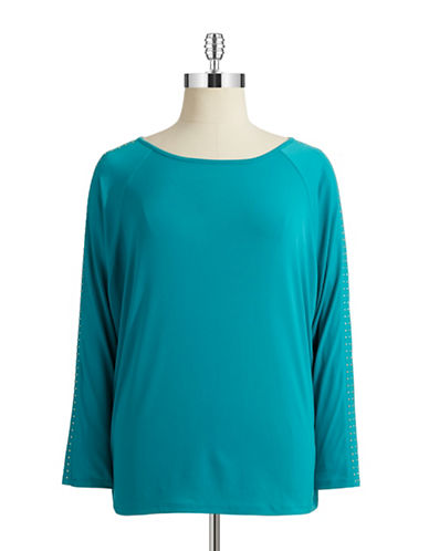 Michael Michael Kors Plus Plus Dolman Sleeved Top