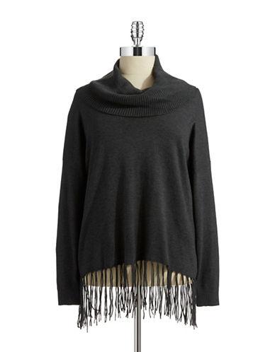 Michael Michael Kors Plus Plus Hi-lo Cowlneck Sweater