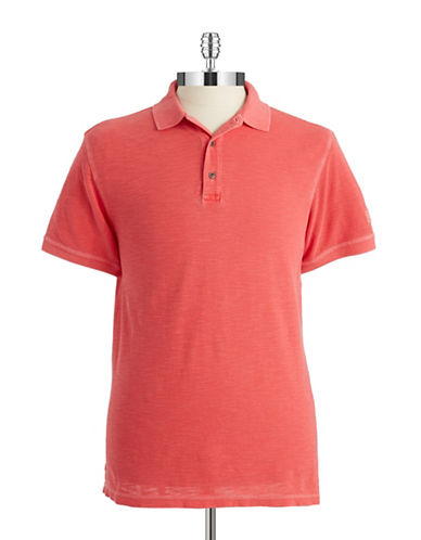 BARBOUR Solid Cotton Polo