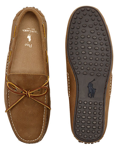 POLO RALPH LAUREN Wydnings Leather Moccasins