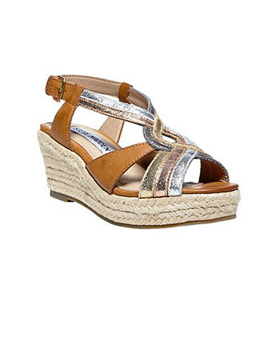 STEVE MADDEN Jmazee Strappy Platform Wedge Sandals