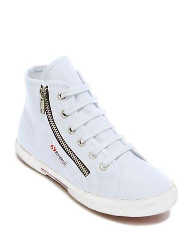 Superga Cotu Cotton Hi-Top Sneakers