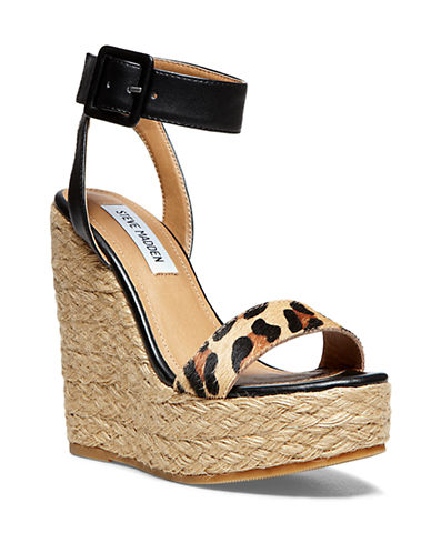 STEVE MADDEN Hamptin Wedge Sandals