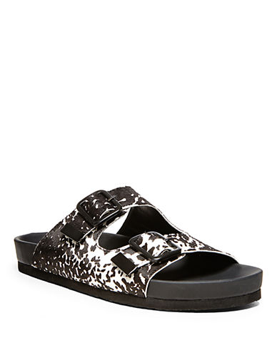 STEVE MADDENBoundree Slide Platform Sandals