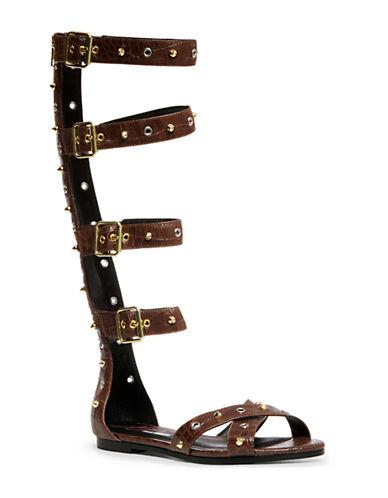 STEVE MADDENPrix Faux Leather Sandals