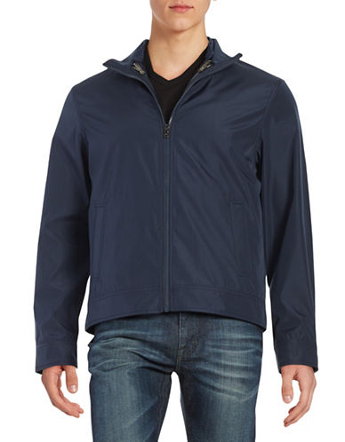 michael kors male convertible zipfront jacket