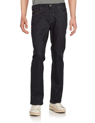 michael kors male dark wash tailored jeans