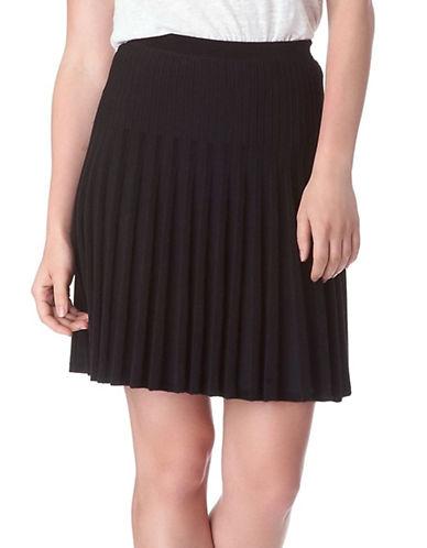 SAM EDELMANSeth Pleated A-Line Skirt