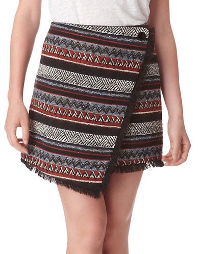 SAM EDELMANHope Striped Foldover Mini Skirt