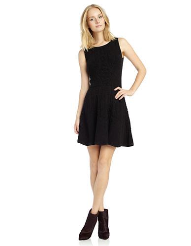 SAM EDELMANTextured Jacquard Dress