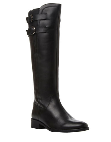 DUNE LONDON Tirrent Leather Knee Boots