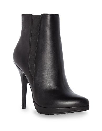 DUNE LONDONNino Leather Heeled Boots