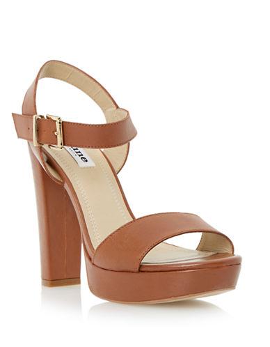 DUNE LONDONMariella Leather Platform Sandals