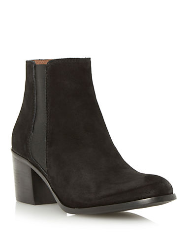 Buy Pora Nubuck Leather Chelsea Boots by Dune London online